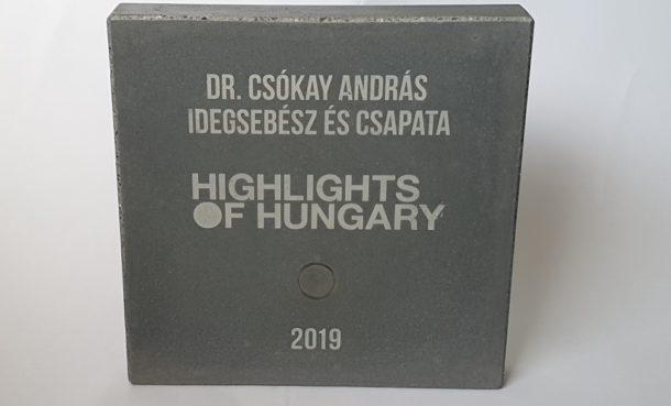 Highlights of Hungary 2019 díj